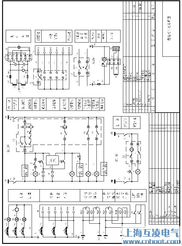 以移开式开关柜为例,典型二次原理图如图11.6~11.10