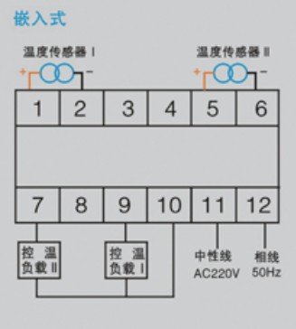 w2k-2p(th)温度控制器接线图