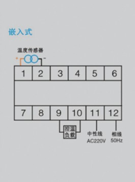 wk-2p(th)温度控制器接线图