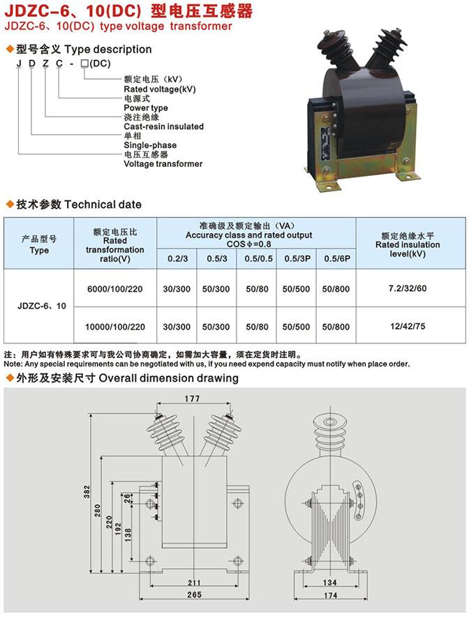 电压互感器是一个带铁心的变压器。它主要由一、二次线圈、铁心和绝缘组成。当在一次绕组上施加一个电压U1时,在铁心中就产生一个磁通φ,根据电磁感应定律,则在二次绕组中就产生一个二次电压U2。改变一次或二次绕组的匝数,可以产生不同的一次电压与二次电压比,这就可组成不同比的电压互感器。电压互感器将高电压按比例转换成低电压,即100V,电压互感器一次侧接在一次系统,二次侧接测量仪表、继电保护等;主要是电磁式的(电容式电压互感器应用广泛),另有非电磁式的,如电子式、光电式。
